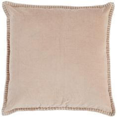 Pier 1 Imports Stella Pillow - Blush (46 CAD) ❤ liked on Polyvore featuring home, bed & bath, bedding, bed pillows and pier 1 imports