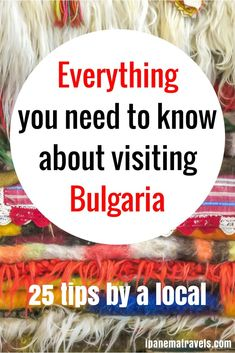 Planning a trip to Bulgaria? Find out here everything you need to know before going to Bulgaria and what to expect when in Bulgaria. Cultural differences and essentials for Bulgaria are outlined in this complete guide to help you plan your trip to Bulgaria and enjoy your stay in Bulgaria. #bulgaria #visitbulgaria #bulgariatravel #traveltips #travel #traveleurope #europe #europevacay