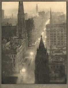 Fifth Avenue From the St. Regis  COBURN, ALVIN LANGDON, b.1882-1966  New York, 1913