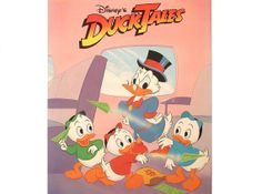 Ducktales Coloring Book Vintage Disney By PeachPod 500