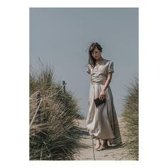 """bf1b1e7a5cb75 Another gorgeous shot of our LS wrap dress in Oyster 100% silk beautifully  shot by @lids_harper,…"""""""