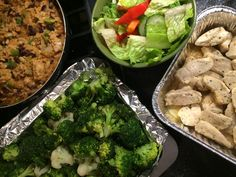What does a typical dinner look like for me? Quick, healthy high protein dinner option recipes