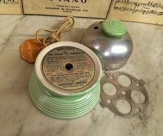 Where can you buy a VINTAGE SEAFOAM GREEN HANKSCRAFT AUTOMATIC ELECTRIC EGG COOKER? Here and it works great and has the original HANG TAG which has the directions! This cooker has a wonderful Art Deco look and is a pretty light green. https://www.etsy.com/listing/465641306 $39.99