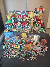 Huge lot of 200+ M&M'S Candy Dispensers/Toppers/Lights/Tins/Mugs etc. etc.