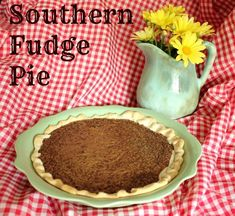 Southern Fudge Pie @ DaisyMaeBelle Actually made it and it is excellent!  Easy too!  Many compliments on it!