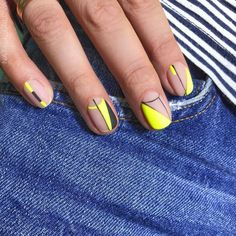 something special ♡ Fabulous Nails, Perfect Nails, Gorgeous Nails, Funky Nails, Cute Nails, Pretty Nails, Hair And Nails, My Nails, Nail Time