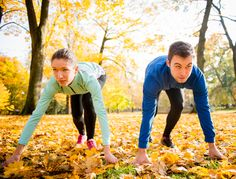 Take your workout to the park and enjoy the beautiful #Fall weather we are having. #Fitness #OneSimpleChange