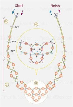 Beaded Necklace Tutorial Mehr