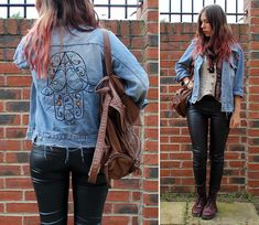 Ethics Embroidered Hamsa Jacket, Topshop Leather Backpack, Market In France Peruvian Cotton Top, Zara Old Faithful Leather Leggins, Dr. Martens Old Faithful Oxblood D Ms, Was Part Of A Skirt... Paisley Scarf