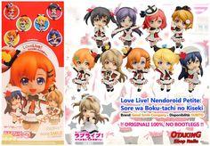 """""""Love Live! Nendoroid Petite: Sore wa Boku-tachi no Kiseki 9pcs+1 secret"""", disponibili personaggi singoli!! Originali Good Smile, no bootlegs! Per info e per acquistarli cliccare qui--> https://www.facebook.com/otakingshopitalia/photos/pb.643117879151698.-2207520000.1444219414./721462741317211/?type=3&theater Consegna a mano su ROMA o spedizione con consegna in 2-3 giorni!"""