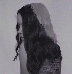 Surrealism photography double exposure