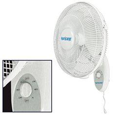 5. Hurricane supreme oscillating wall mount fan.