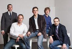 Das Team der Hydrip GmbH - v.l.n.r.: Philip Hink, Christian Rammel, Stefan Glaser, Philipp Mehlhorn, Andreas Wurm / © Lukas Dostal