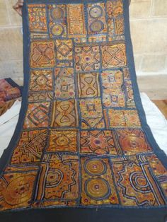 INDIAN WALL HANGING TAPESTRY ETHNIC VINTAGE PATCHWORK Decor