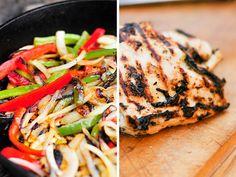 Grilling: Chicken Fajitas