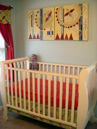 Tips and tricks for designing a baby nursery.