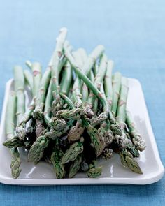 How to shop for, cook, and store fresh asparagus.