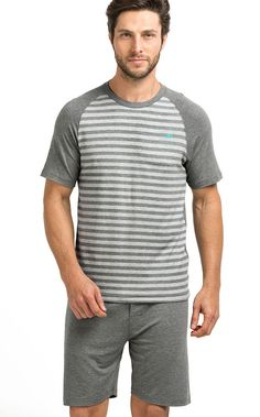 Mens Sleepwear, Men's Loungewear, Mens Night Suit, Fashion Beauty, Mens Fashion, Fashion Trends, Summer Pajamas, Nightwear, Lounge Wear