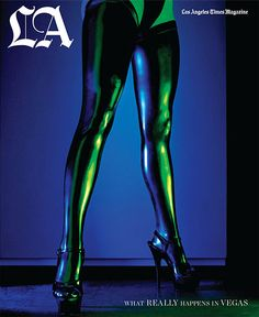 Los Angeles Times Magazine sure is giving The New York Times Style Magazine a run for it's money with its stunning editorial design. #latex