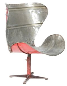 Po! Paris chic chair made in Albania from recycled oil drums