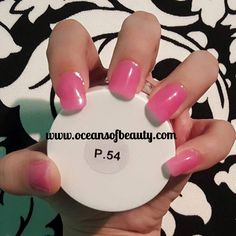 P.54 EZdip Gel Powder. DIY EZ Dip. No lamps needed, lasts 2-3 weeks! Salon Quality done right in your own home! For updates, customer pics, contests and much more please like us on Facebook https://www.facebook.com/EZ-DIP-NAILS-1523939111191370/ #ezdip #ezdipnails #diynails #naildesign #dippowder #gelnails #nailpolish #mani #manicure #dippowdernails
