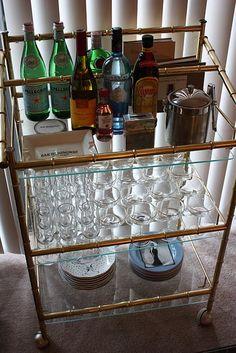 bar cart!
