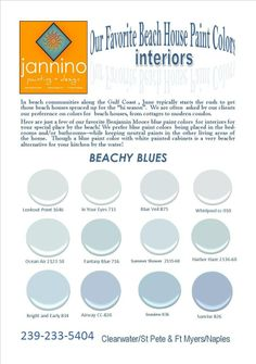 We Love The Color Blue And Benjamin Moore Paints Here Are Just A Few Of