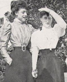 Victoria and Maud
