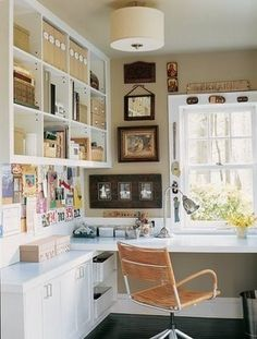 Sunny Side Up: New house update - designing my office!  perfect bookshelves for an office update...someday