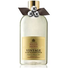 Molton Brown Vintage 2016 With Elderflower Bath & Shower Gel (€26) ❤ liked on Polyvore featuring home, bed & bath, bath, bath accessories, vintage bathroom accessories, molton brown, shower bath accessories and vintage bath accessories