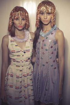 Backstage - Piorski - Circus Spectacular - Dragão Fashion 2011
