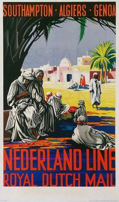Nederland Line ~ Stoomvaart Maatschappij Nederland