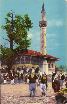 Old Pictures, Old Photos, Albanian Culture, Tirana Albania, Oriental, Pergola, Ottoman Empire, Bosnia And Herzegovina, Cairo