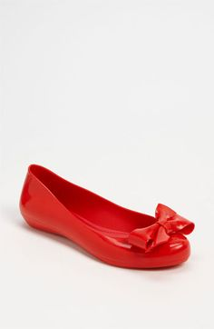 Mel by Melissa 'Strawberry' Flat available at #Nordstrom These need to be added to my shoe collection!!!