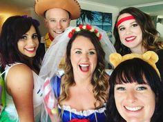 buzz, woody, snow white, winnie the pooh, pirate
