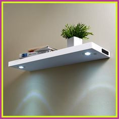 77 Reference Of Bookshelf Lighting Battery In 2020 Bookshelf Lighting Floating Shelves With Lights Wooden Wall Shelves