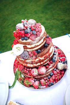 Die 82 Besten Bilder Von Naked Cake Birthday Cakes Pound Cake Und