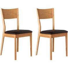 Buy Emmett Pair of Wooden Dining Chairs at Argos.co.uk - Your Online Shop for Dining chairs.