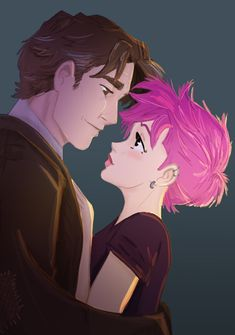 Lupin and Tonks by Hilly Minne Art