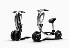 green ride plans on easing short commuting distances with foldable inu scooter http://ift.tt/1OsdP2E