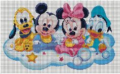 Disney Babies cross stitch