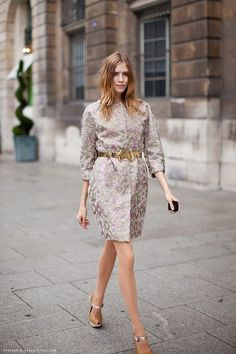 Elena Perminova #StreetStyle