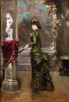 Ludovico Marchetti (Italian, 1853-1909) - The fair connoisseur