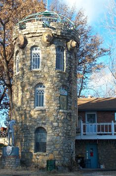 Unknown Castle in Missouri.  Well defended , too, I see.