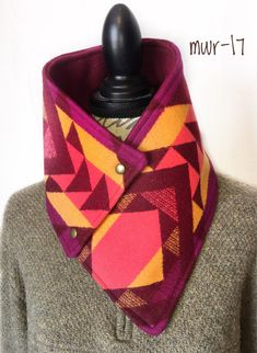 Silver Wings, Pendleton Wool, Custom Leather, Plaid Scarf, Montana, Cowl, Trending Outfits, Unique Jewelry, Handmade Gifts