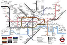 london underground map poster, $6.99