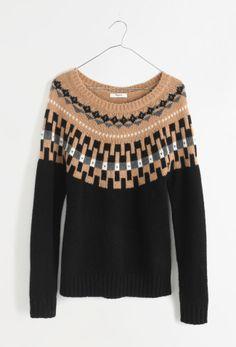 Madewell modern slope sweater.