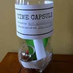 It seems like 2018 just flew by! But you know what they say, time flies when you're having fun! Before you know it, your kiddos will be going off to college, so help your family remember for years to come by creating a Tiny Tot Time Capsule. Crafts From Recycled Materials, Recycled Crafts Kids, Recycled Art Projects, Crafts For Kids, Arts And Crafts, Recycling Projects For Kids, Reduce Reuse Recycle, Time Capsule, College