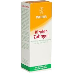 WELEDA Kinder Zahngel - Zahnpasta:   Packungsinhalt: 50 ml Gel PZN: 00506515 Hersteller: WELEDA AG Preis: 2,93 EUR inkl. 19 % MwSt. zzgl.…