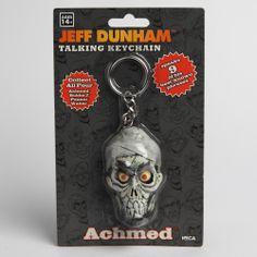 Official Jeff Dunham : Achmed The Dead Terrorist Talking Keychain